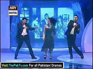 our hero Faysal Qureshi`s dance performance in Lux Style Awards 2012