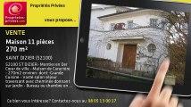 A vendre - maison - SAINT DIZIER (52100) - 11 pièces - 270m²
