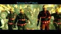 Jil Movie Man on Fire Song Trailer | Gopichand, Rashi Khanna