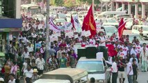 Myanmar students seize political freedom on campus and in streets