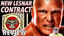 Brock Lesnar signs new contract with WWE 2015 | Brock Lesnar re-signs with WWE