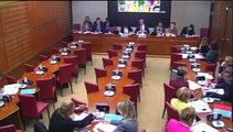 Audition à l'assemblée nationale de Najat Vallaud Belkacem, Ministre de l'éducation nationale et de l'enseignement supérieur