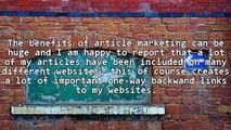 Successful Article Marketing Strategies