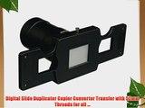 Digital Slide Duplicator Copier Converter Transfer with 52mm Threads for all ...