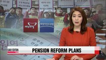 NPAD announces its pension reform plan for public servants; ruling party and civil servants' unions oppose to plan