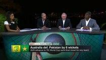 Wahab Riaz fight with Shane Watson Australia vs Pakistan Highlights QuarterFinal Best Spell