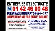 ELECTRICITE PARIS 15eme - ELECTRICIEN 75015 - 108 RUE LECOURBE