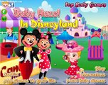 BABY HAZEL  A Disney terre, Disneyland Juego, Disneyland game and cartoon !