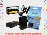 2x Pack - Chromo Inc CI-160 Battery   Charger with Car