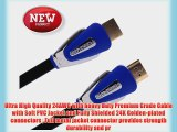 FORSPARK High Speed Ultra HDMI Cable 50ft 24AWG CL3 Rated For In-Wall-Installation HDMI Cable