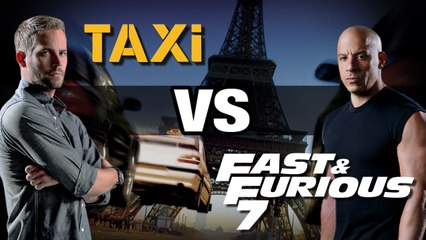Bande annonce: Taxi façon Fast and Furious 7 - WTM