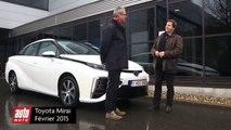 Toyota Mirai 2015 : essai complet de la voiture à hydrogène
