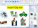 Lesson # 48 The Insert Picture Clipart (Microsoft Office Excel 2007 Tutorial)(Urdu & Hindi)