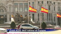 Crash A320: deuil national en Espagne