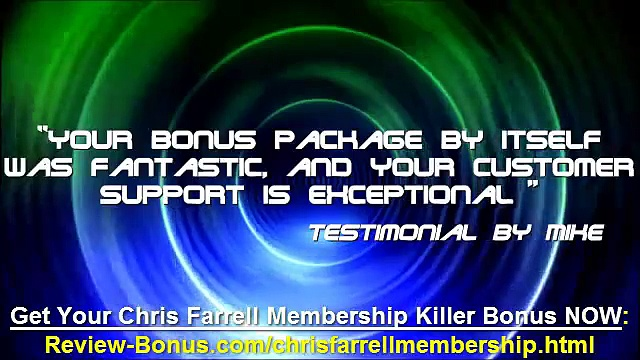 Chris Farrell Membership Bonus, Chris Farrell Membership Best Bonus, bonuses pack
