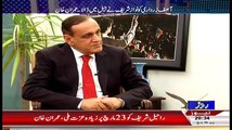 Is Altaf Hussain Is Agree To Do Operation In Karachi Imran Khan Reveals Inside Story