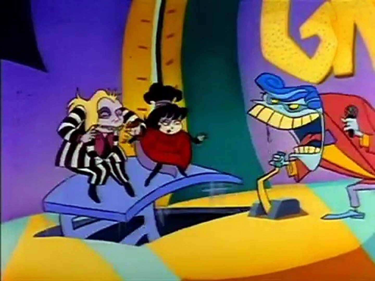 Beetlejuice The Animated Series S01e2a The Big Face Off