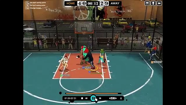 VADR00Y Speed Hacking in FreeStyle Street Basketball 2