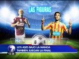 (Video) Heiner Mora y Yendrick Ruiz llegan como las grandes figuras de la final