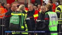 Crash dans les Alpes : les familles des victimes sur les lieux du drame
