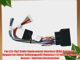 Pac C2r-Vw2 Radio Replacement Interface (With Navigation Outputs For Select Volkswagen(R) Vehicles)