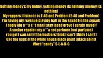 E-40 - Function - Lyrics