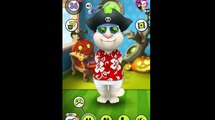 My Talking Tom play with Angela   Outfit7 gameplay #2   Hit the road   High score