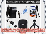 Must Have Accessories Bundle Kit For Sony MHS-PM5 Bloggie HD Video Camera Includes Extended