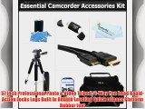 Essential Kit For Panasonic HDC-TM900K HDC-HS80K HDC-HS900K HDC-SD40K HDC-SD800K HDC-SD90K