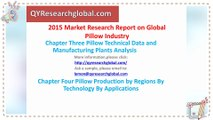 QYResearch Report-2015 Market Research Report on Global and China Pillow Industry