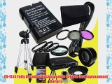 Nikon D3100 D3200 D5100 Digital SLR Cameras EN-EL14 Fully Decoded Replacement Lithium Ion Battery