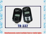 PIXEL Knight TR-332 2.4GHz Flash Radio Wireless Remote Shutter and Flash Trigger for Canon