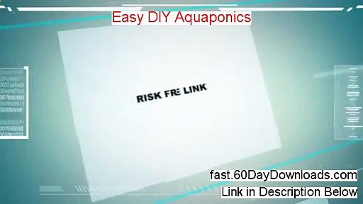 Easy Diy Aquaponics – Simple Diy Aquaponics