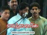Zakir Raza Abbas Jhandvi 21 April 2013 Imamia Colony Lahore