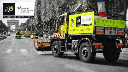 Route du Tour (HD AVI 1920 x 1080 60 fps) - TDF 2015 - André Bancala