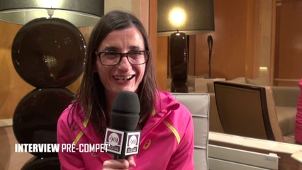 INTERVIEW PRÉ-COMPET' : Christelle Daunay