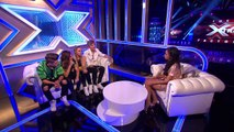 Only The Young's Exit Chat _ Live Week 7 _ The Xtra Factor UK 2014