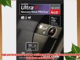 SanDisk SDMSPDH-004G-A11 4GB/15MB Ultra II MSPD Card