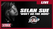 """Selah Sue """"Won't go for more"""" en live dans Planète Rap !"""