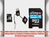 Memzi 32GB Class 10 40MB/s Ultima Pro Micro SDHC Memory Card with SD Adapter and USB Reader