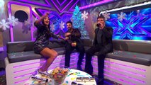 Winner Ben Haenow and Simon Cowell chat to Sarah-Jane _ The Xtra Factor UK _ The X Factor UK 2014