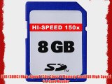 8GB Accessory Kit For The Canon SX30IS SX30 IS Canon G12 Digital Camera Includes 8GB High Speed