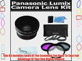 Lens Kit Includes 52mm 3pc High Resolution Multi Coated Filter Kit   HD .45x Wide Angle Lens