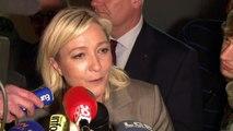"""A Hénin-Beaumont, Marine Le Pen dénonce encore """"l'UMPS"""""""