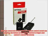 Opteka Wireless Radio Remote Release for Olympus EVOLT SP-510 SP-550 SP-560 SP-565 SP-570 SP-590