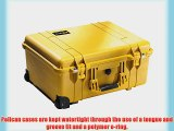 Pelican 1560 Case with Foam for Camera (Yellow)