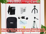 Holiday Accessories Gift Kit For Canon PowerShot S95 SD4000 IS SX600 HS SX610 HS SX710 HS Digital