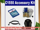 Kodak C1550 EASYSHARE Digital Camera Accessory Kit includes: SB257 Charger SDC-22 Case KSD2GB
