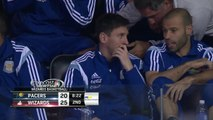 Lionel Messi at Pacers-Wizards Game   March 25, 2015   NBA 2014-15 Season