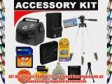 4GB DB ROTH Deluxe Pro Accessory kit For The Panasonic Lumix DMC-FZ28  DMC-FZ30  DMC-FZ50